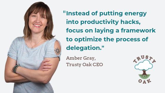 Amber Gray, Trusty Oak CEO