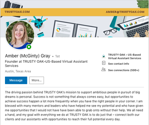 Complete Your LinkedIn Profile