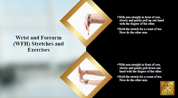 Wrist and Forearm Stretches and Exercises